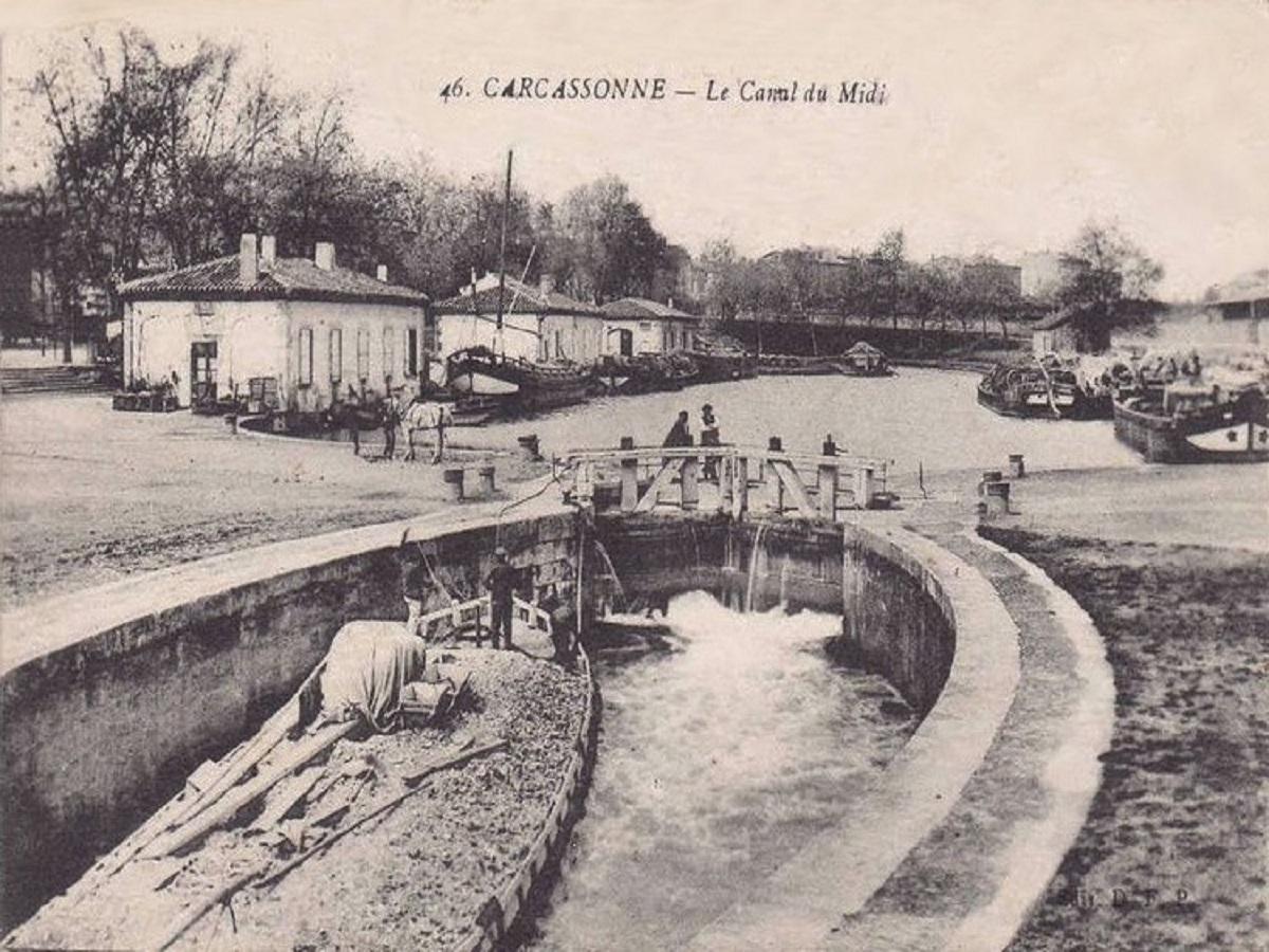 Le_Canal_à_Carcassonne