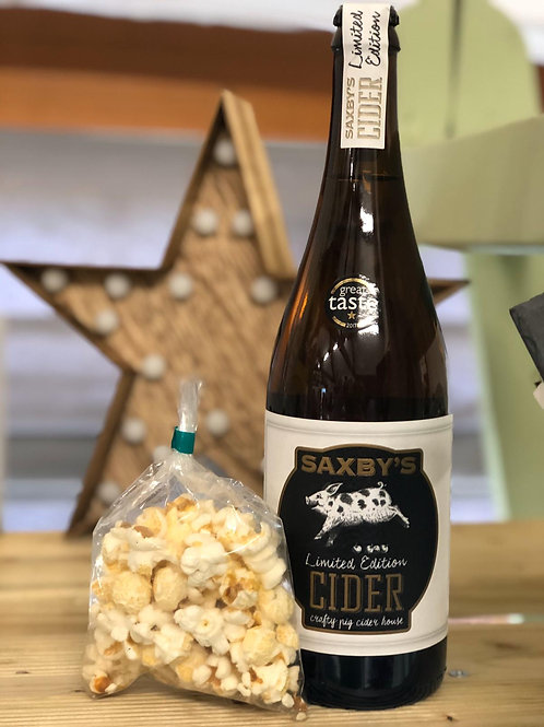 Saxbys Limited Edition Cider 75cl 6%