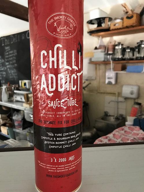 Chilli 🌶 Addict Sauce Gift Set 3 x 200g Jars