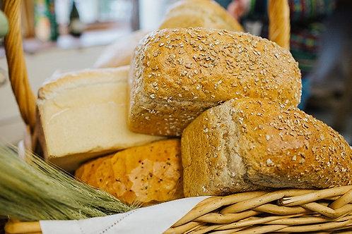 Large Malted Loaf Bread sliced