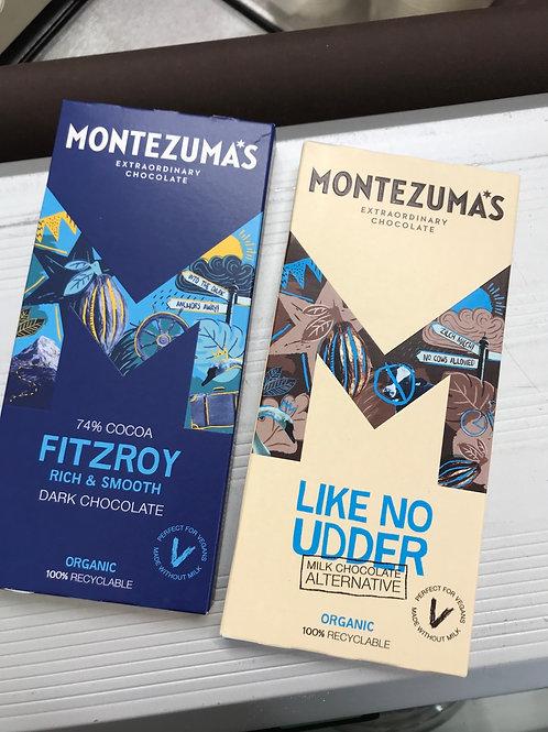 Montezuma's Chocolate range 90g
