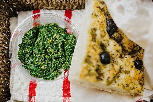 Olive Foccacia Bread