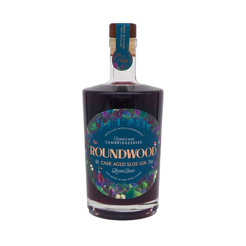 Roundwood Cask Aged Sloe Gin 50cl 32%