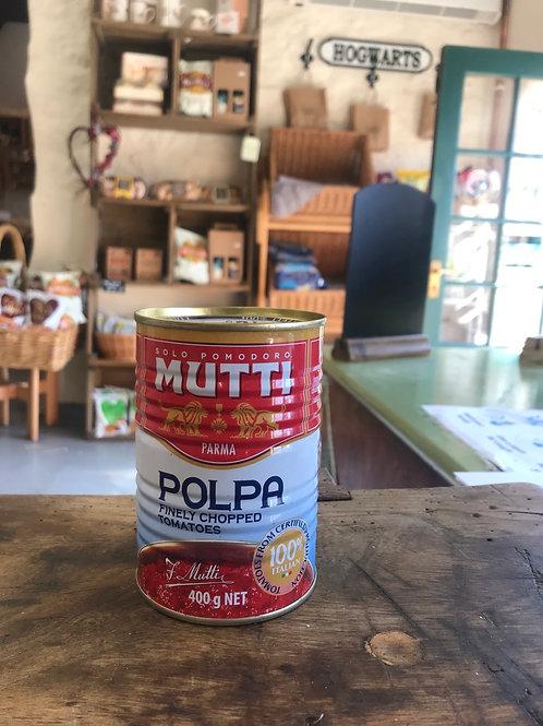 Mutti Chopped Tomato's 400g