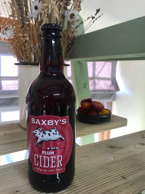 Saxbys - Plum Cider 3.8% 50cl