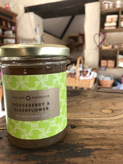 England Preserves - Gooseberry and Elderflower