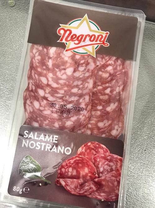Negroni - Salame Nostrano 80g