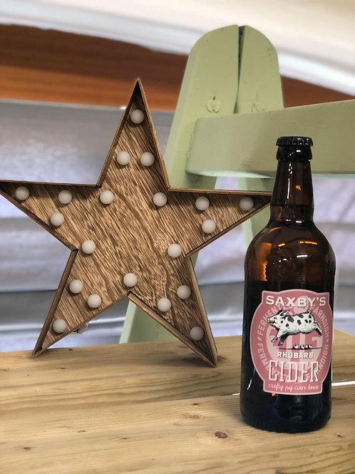 Saxbys - Rhubarb Cider 50cl 3.5%