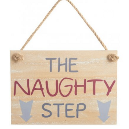 The Naughty Step sign