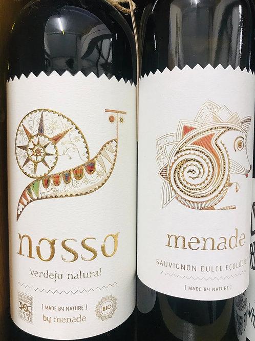 Organic white wine gift set 🎁