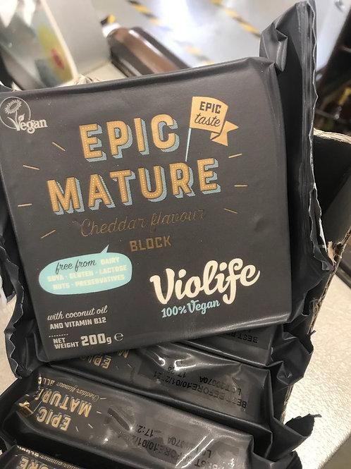 Epic Mature Cheddar Block VEGAN