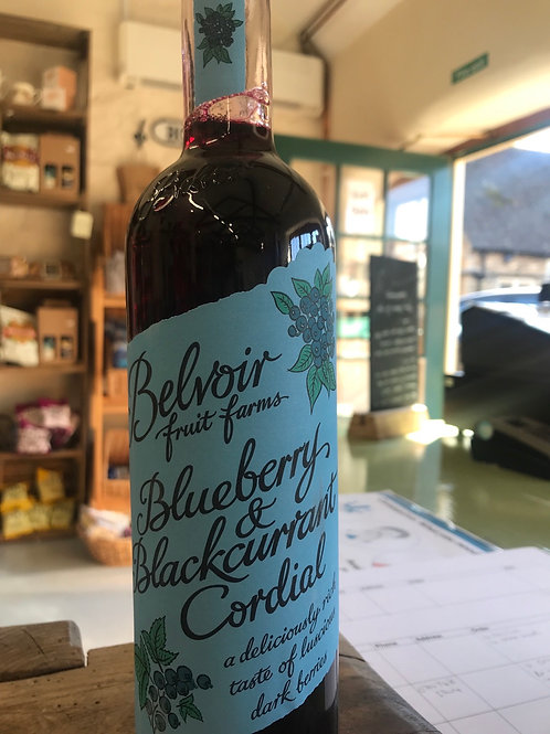 Belvoir - Blueberry and Blackcurrant Cordial 500ml
