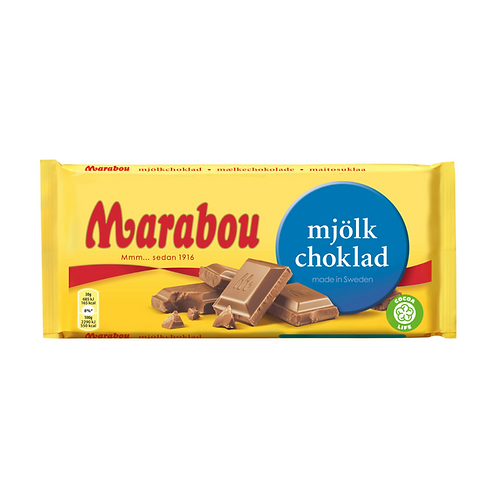 Marabou Mjölkchoklad – Milk Chocolate 200g – Swedish milk chocolate
