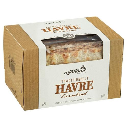Mjalloms Havre Tunnbrod – Oat Flatbread 120g