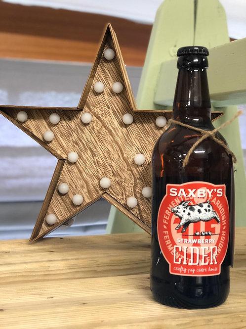 Saxbys - Strawberry Cider 50cl 3.8%