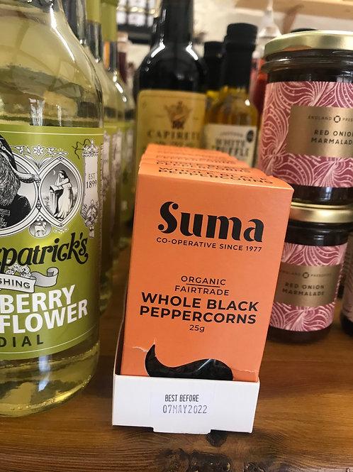 Organic Fair Trade Black peppercorns