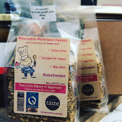 Little Bakery of Happiness Munchable multiseed crackers