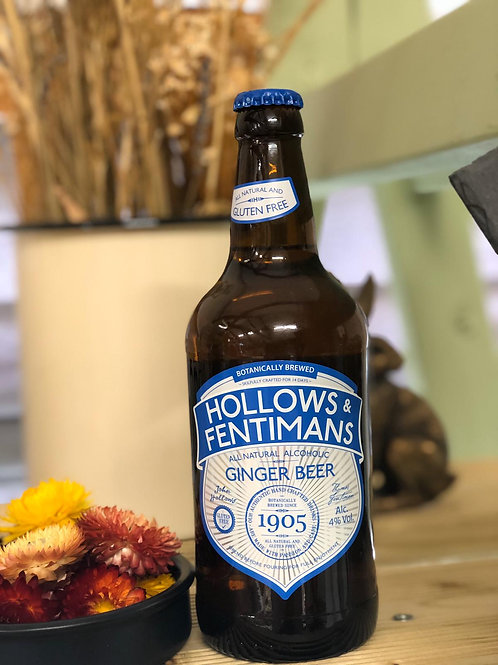 Hollows and Fentimans Alcoholic Ginger Beer 4% 500ml