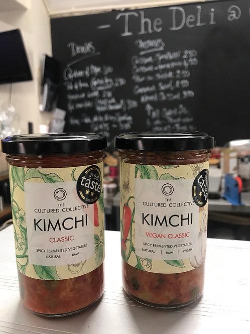 The Cultured Collective Kimchi & Sauerkraut