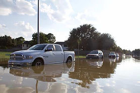 Flood trucks, flood insurance