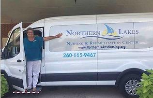 2018 van w Dee2, Northern Lakes Nursing.