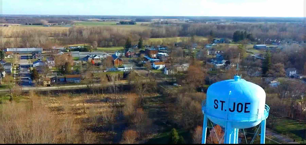 Drone St. Joe water tower.jpg