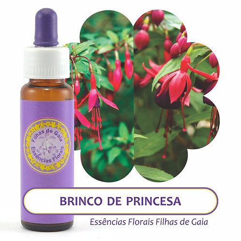Brinco de Princesa - Essência Floral