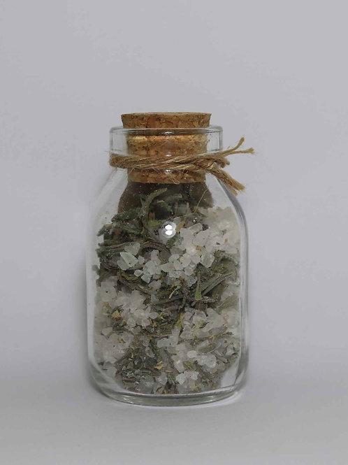 Sal para banho com Composto Floral: Manto de Luz