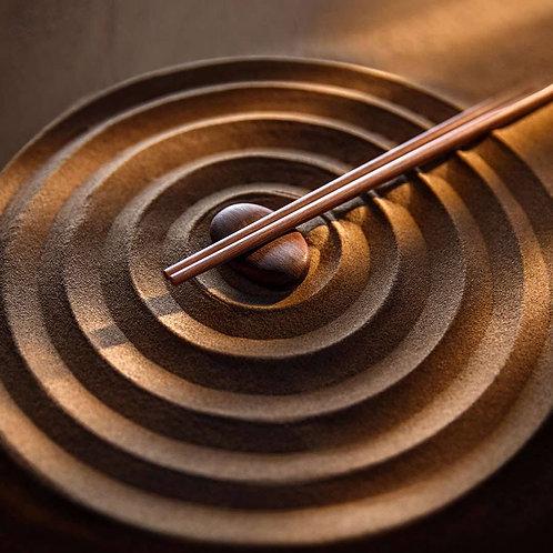 小米实木筷 #黄檀木10双