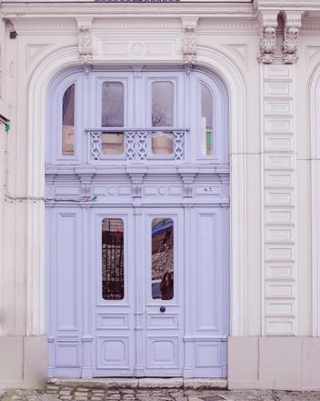 Pretty Door In Rouen