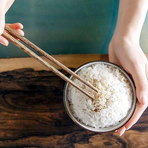 小米实木筷 #红檀木10双