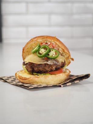 Capsicum Burger