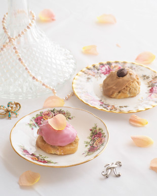 Rose & Coffee Choux