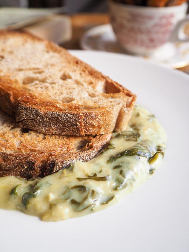 Artichoke & Parmesan Dip Close Up
