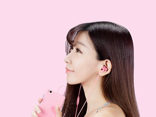小米活塞耳机 #粉色