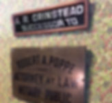 image of plaques on the wall at hvp law offices
