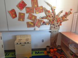 Creative art apple tree