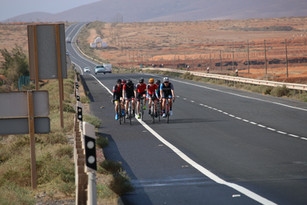 Beautiful roads to cycle on