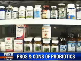 "Fox News Medical Team reporter Beth Galvin with Dr. Rudert reports on how ""Probiotics may help"