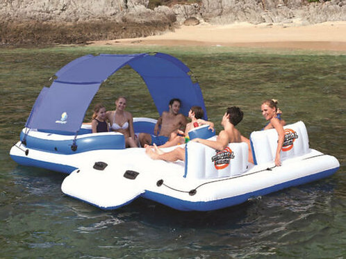 Giant 6-Person Sport Island Rental