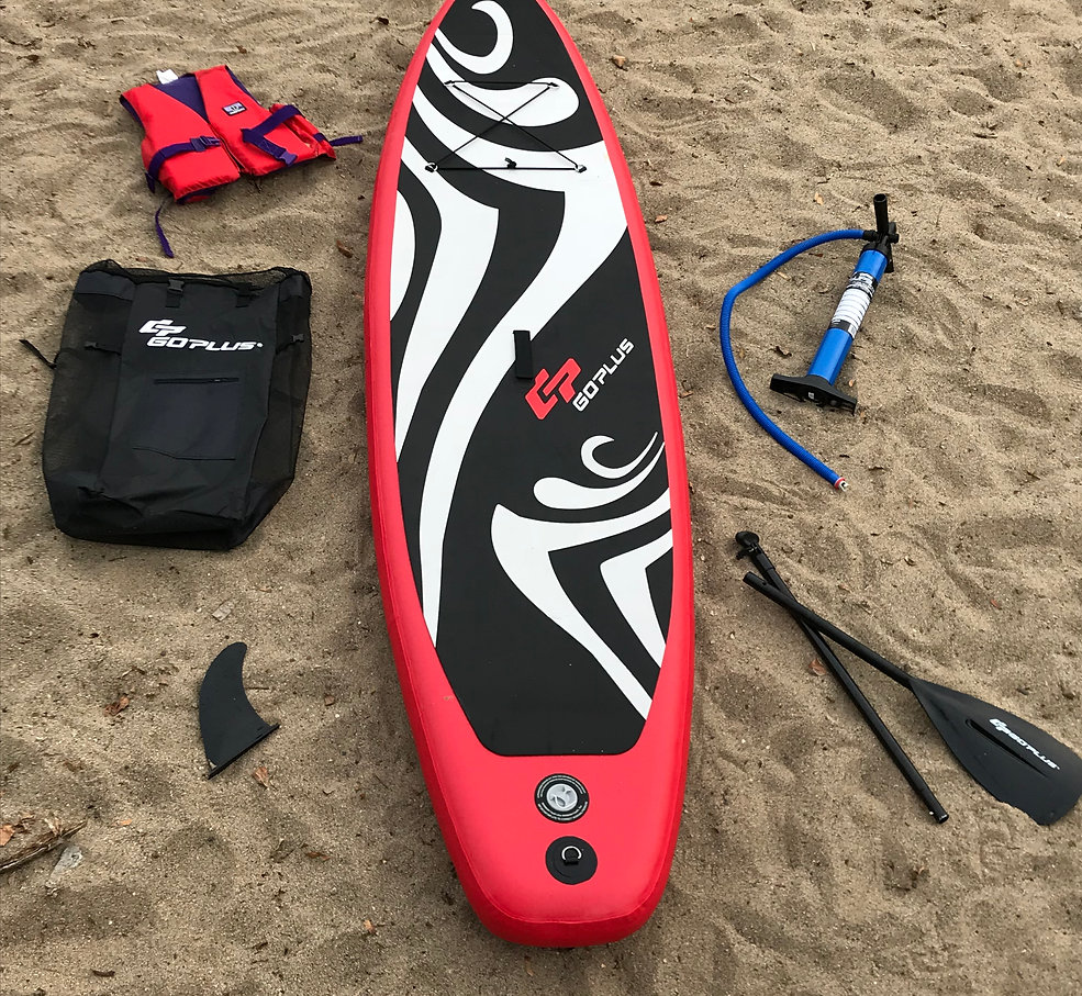 Inflatable Paddle Board Rental With Free Delivery & Pickup