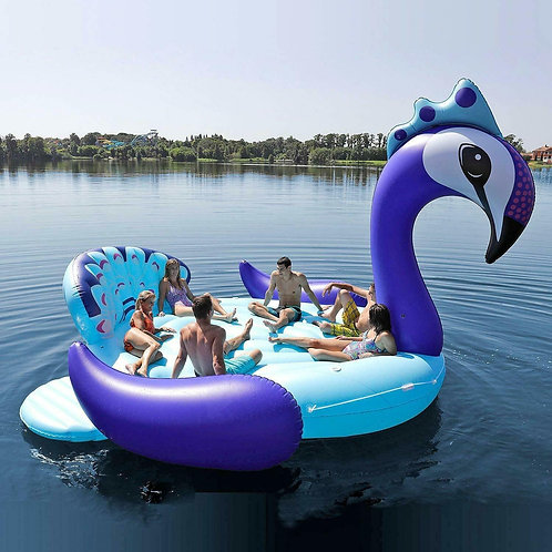 Giant 6-Person Peacock Island Rental