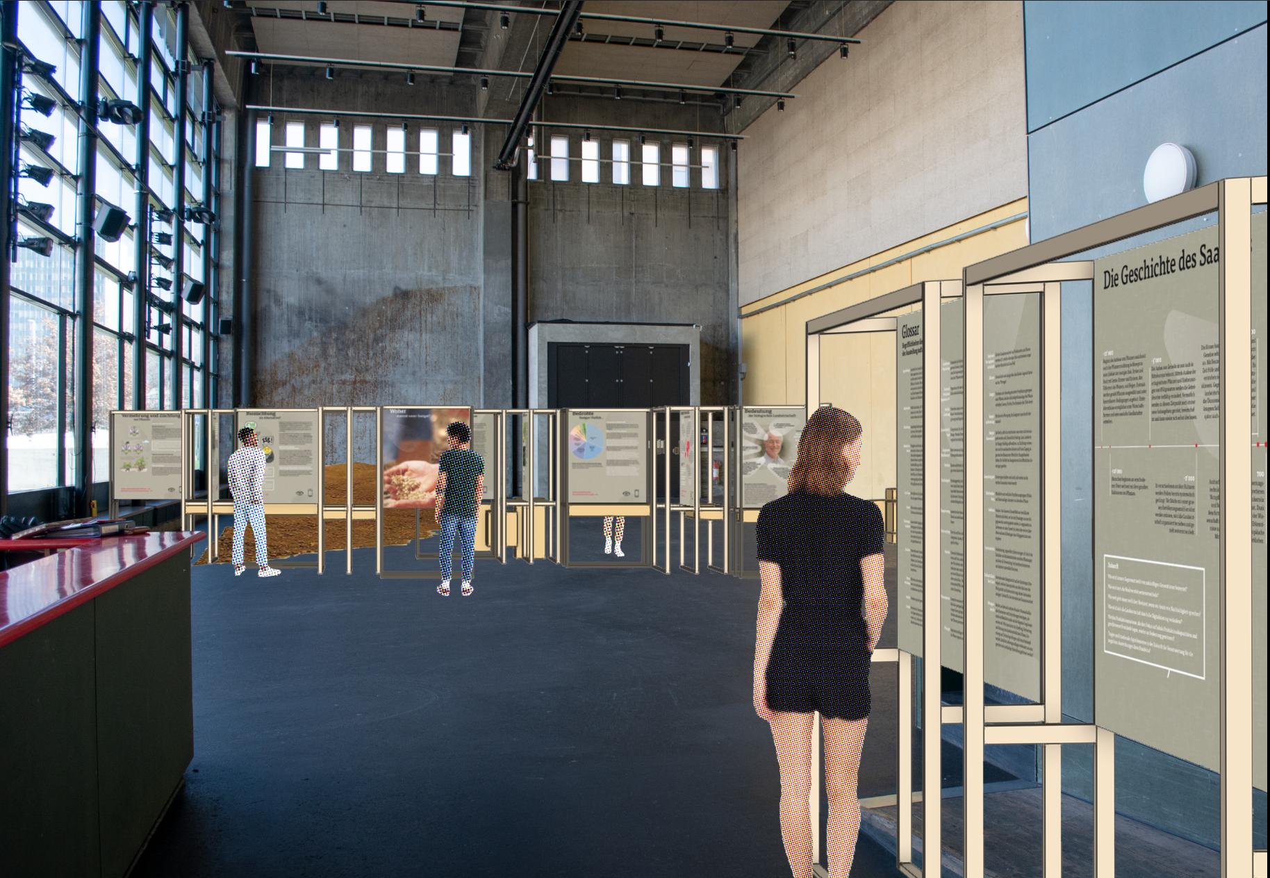 Visualisierung-Saatgutausstellung