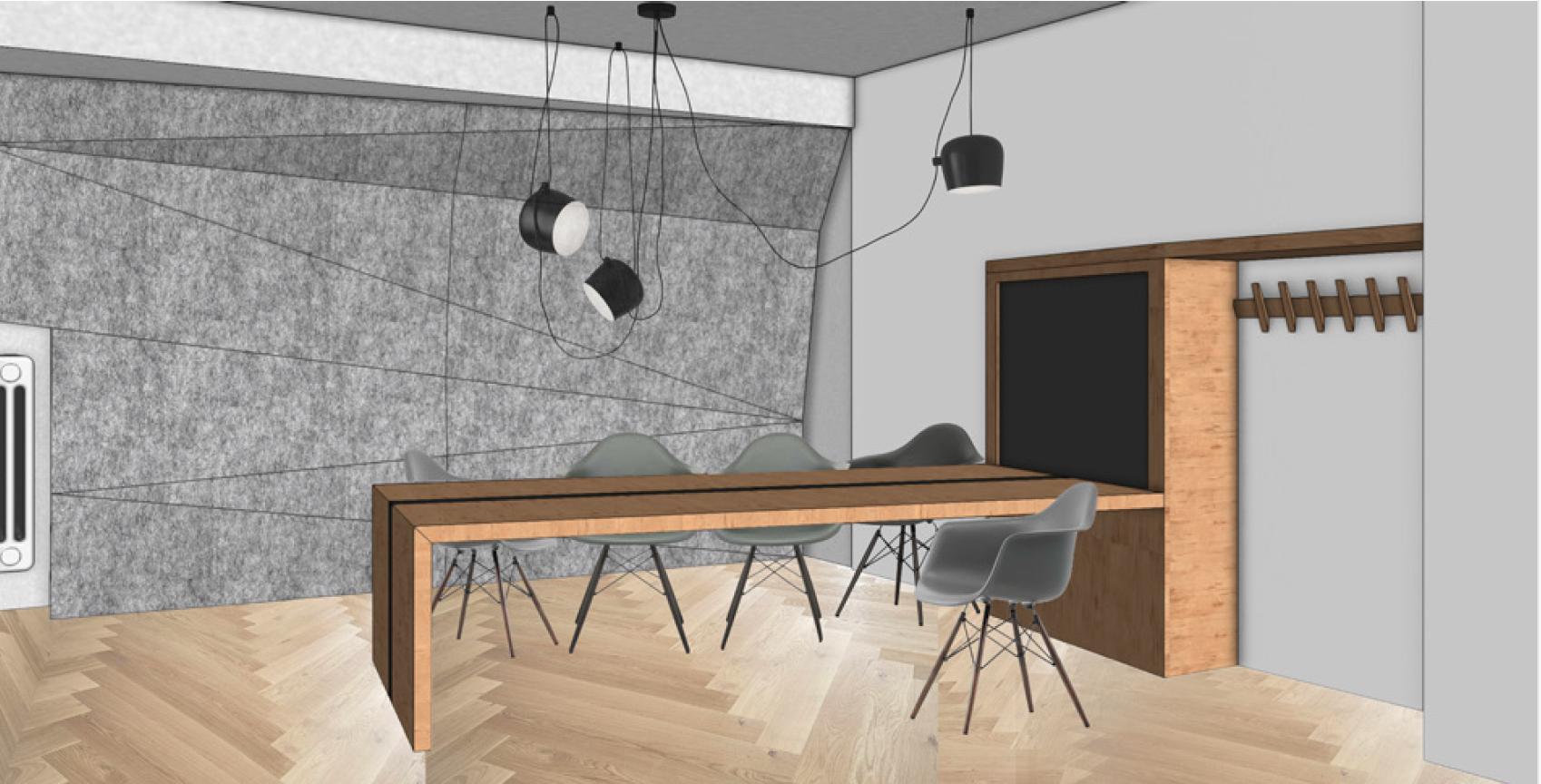 Visualisierung Sitzungszimmer