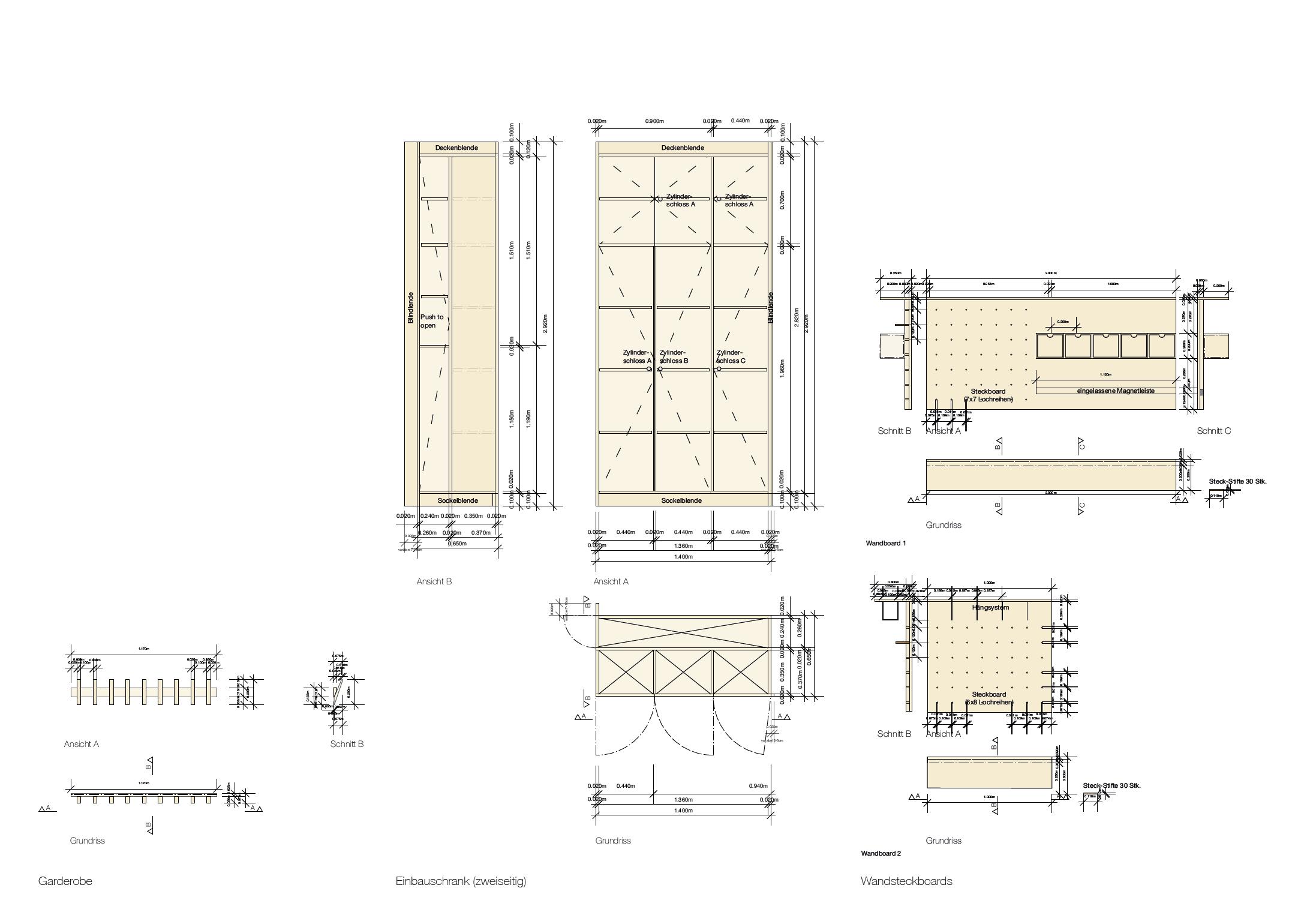 Werkplan | Möbel