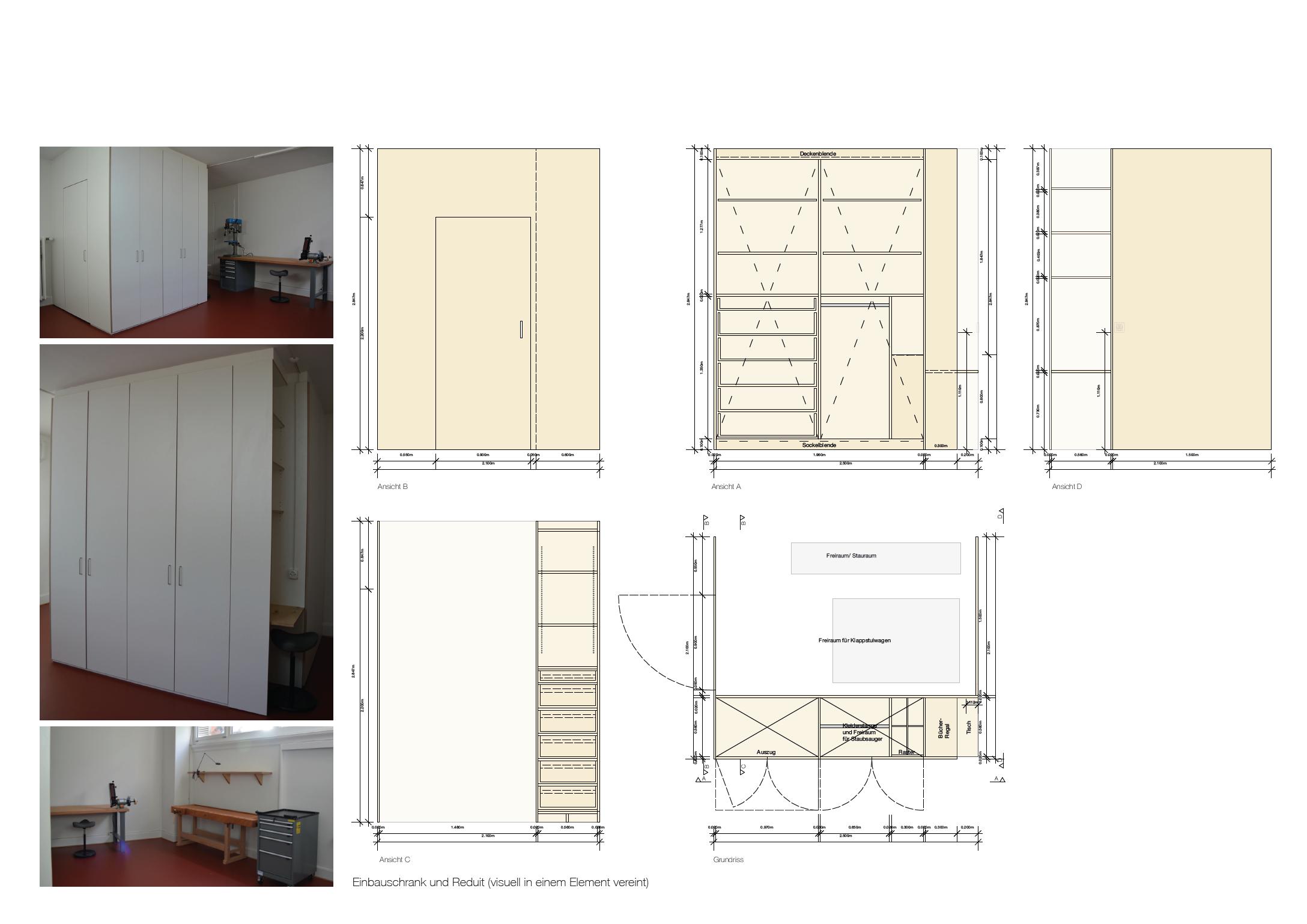 Werkplan | Schrankmöbel