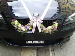 Auto-Blumengirlande