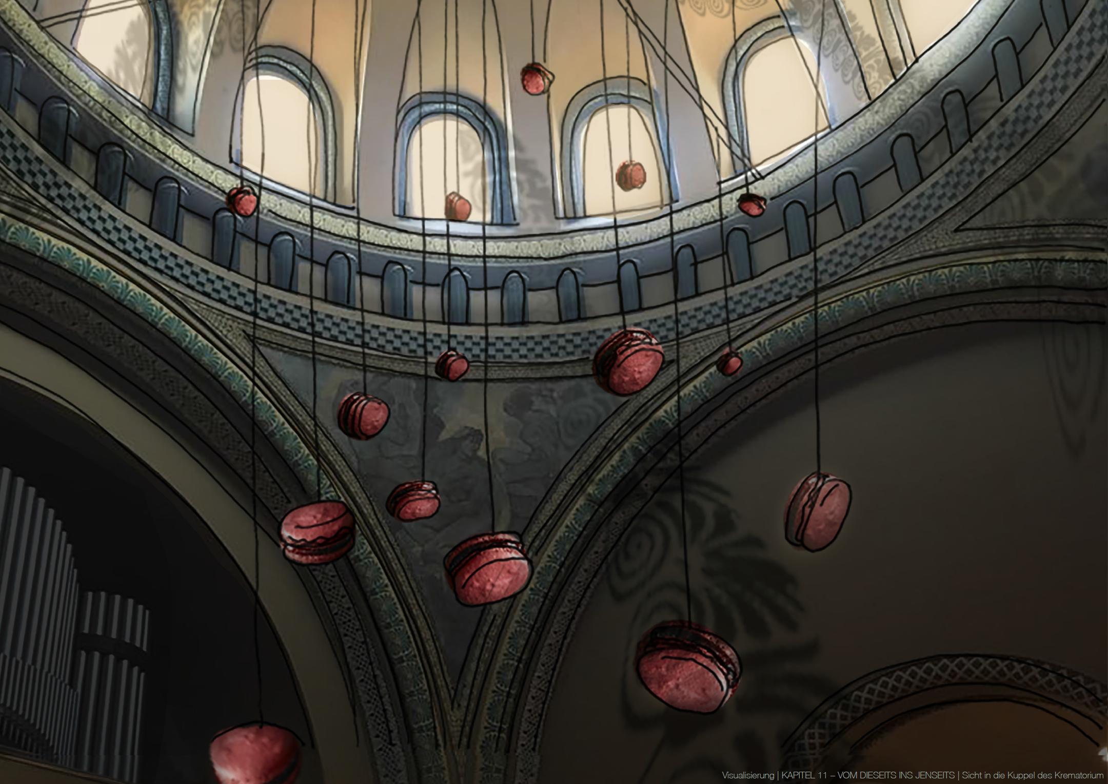 Blick in die Kuppel