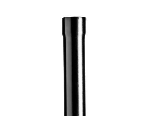75mm Onyx SL Swaged Pipe 1 Metre - Black