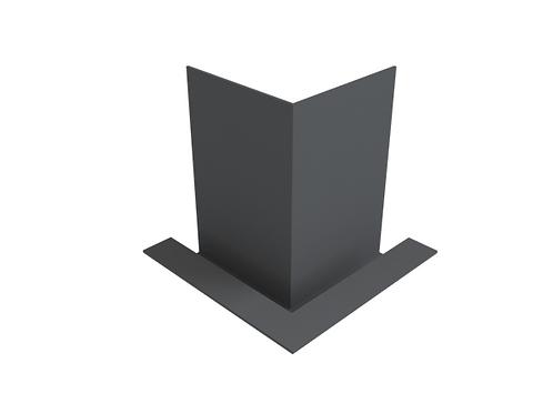380-420mm Modern Fascia Internal 90 Degree Angle (Select Face Size)